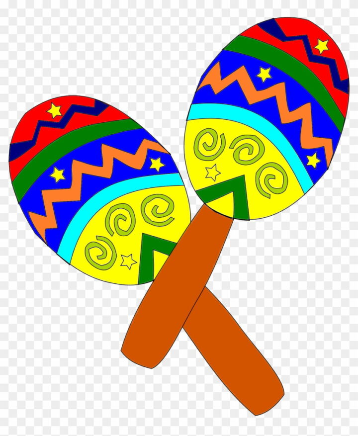 Instrumentos Musicais Mexican Clipart Image Provided.
