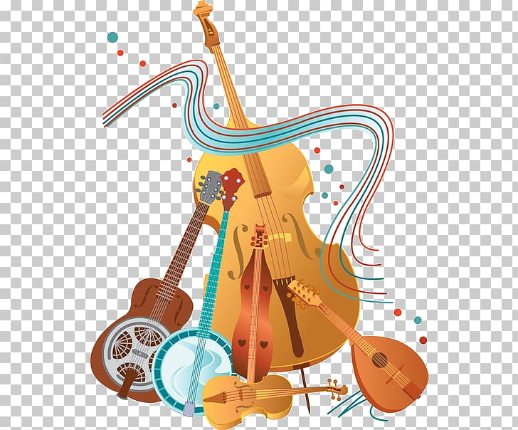 Instrumentos musicales violín escuela de música sonora, instrumentos.