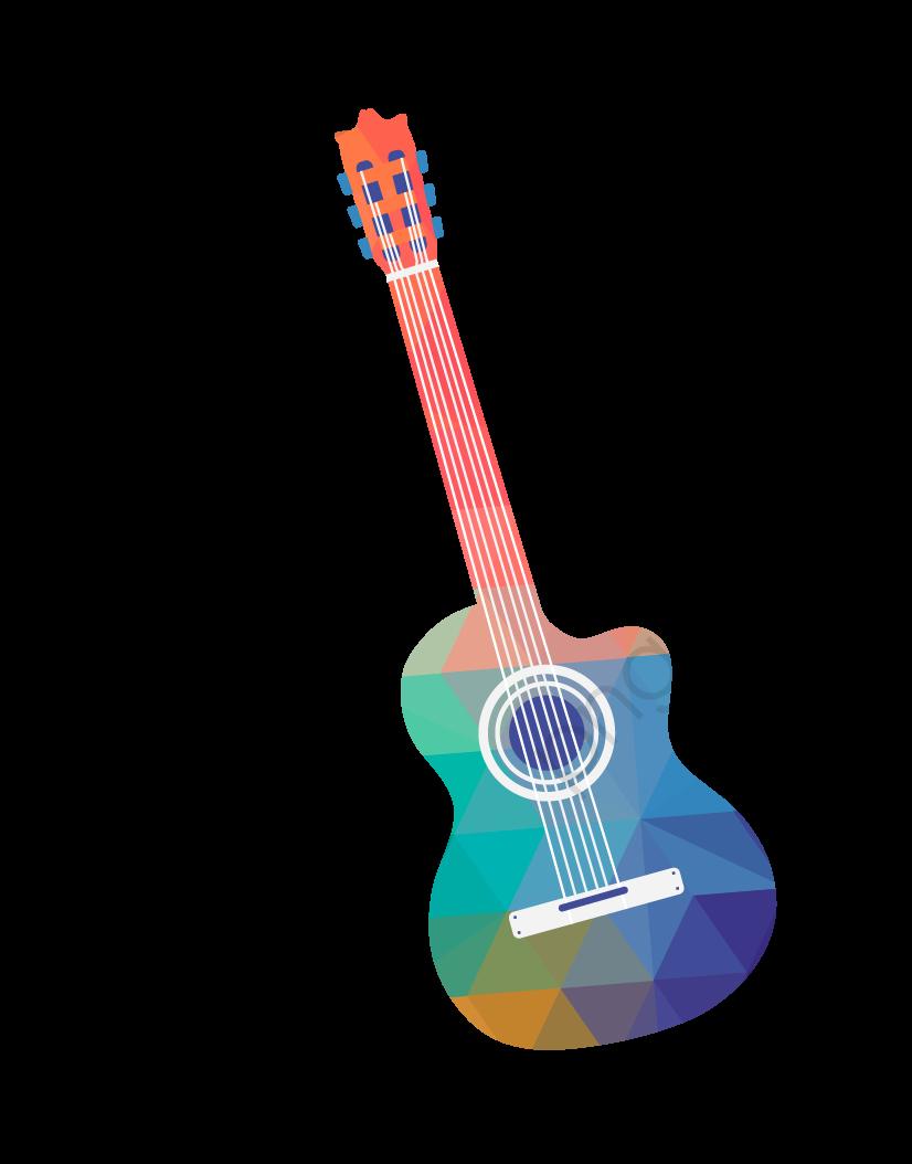 Guitarra Instrumento Png Vector Material, Creative Instrumento.