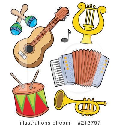 Free to share musical instruments clipart.