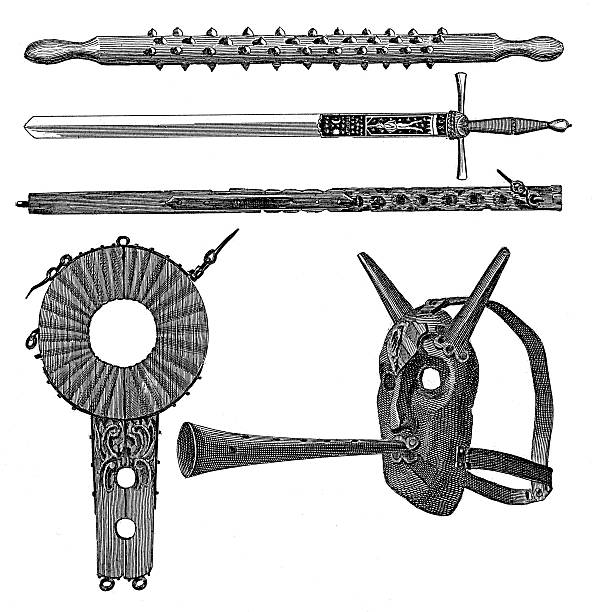 Instruments Of Torture Clip Art, Vector Images & Illustrations.