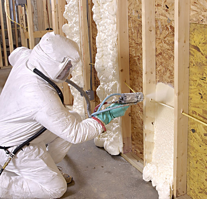 Investofoam Spray Foam Insulation.