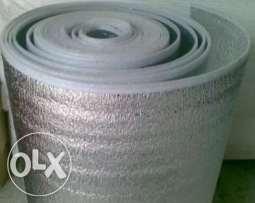 Foam insulation.