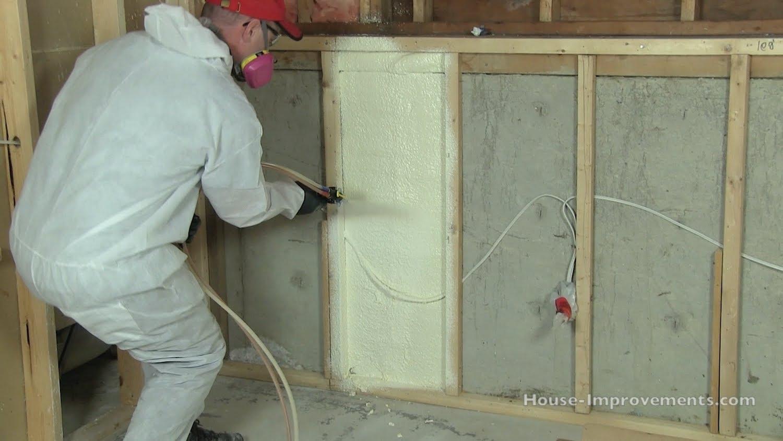 How to Install Spray Foam Insulation DIY.