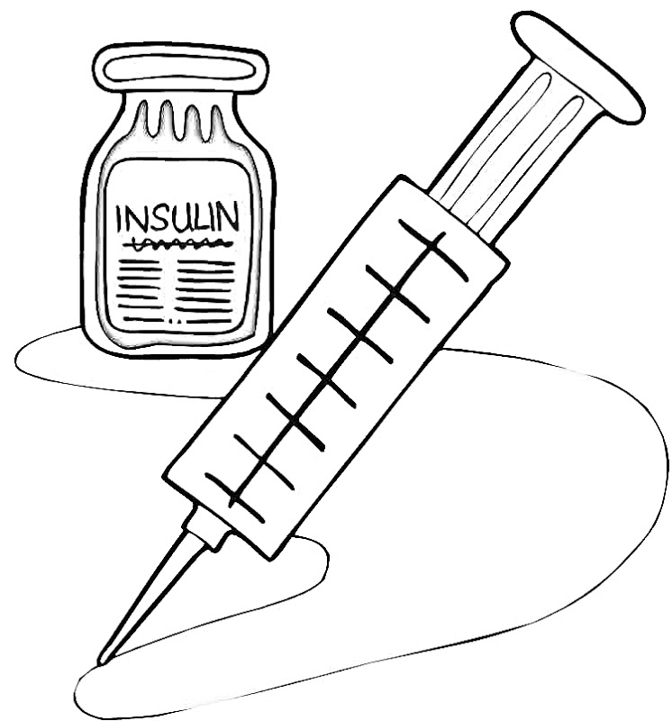 Insulin Clipart.