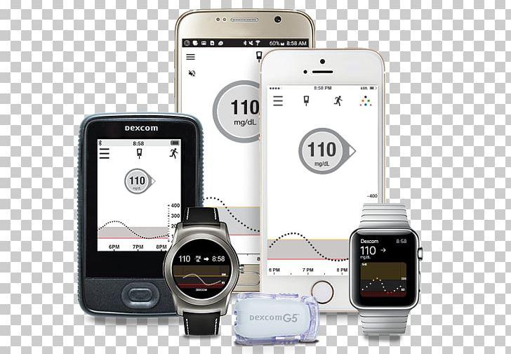 Smartphone Continuous Glucose Monitor Dexcom Insulin Pump.