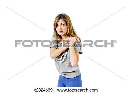 Stock Photography of Insulted and hurt Young teen girl x23245691.