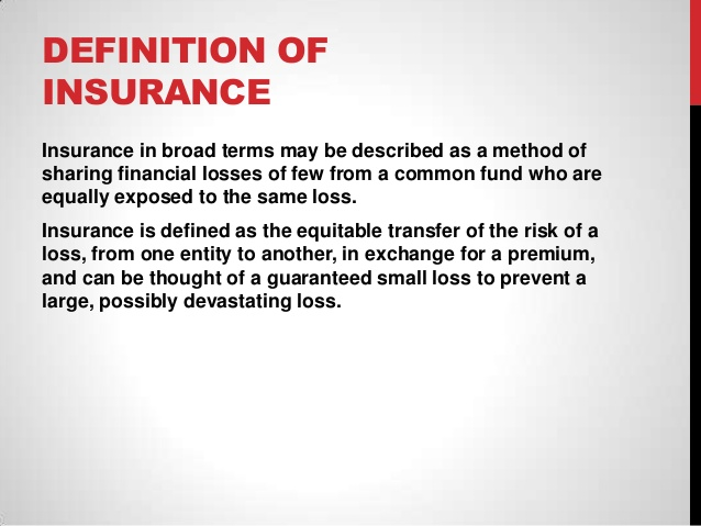 General insurance.
