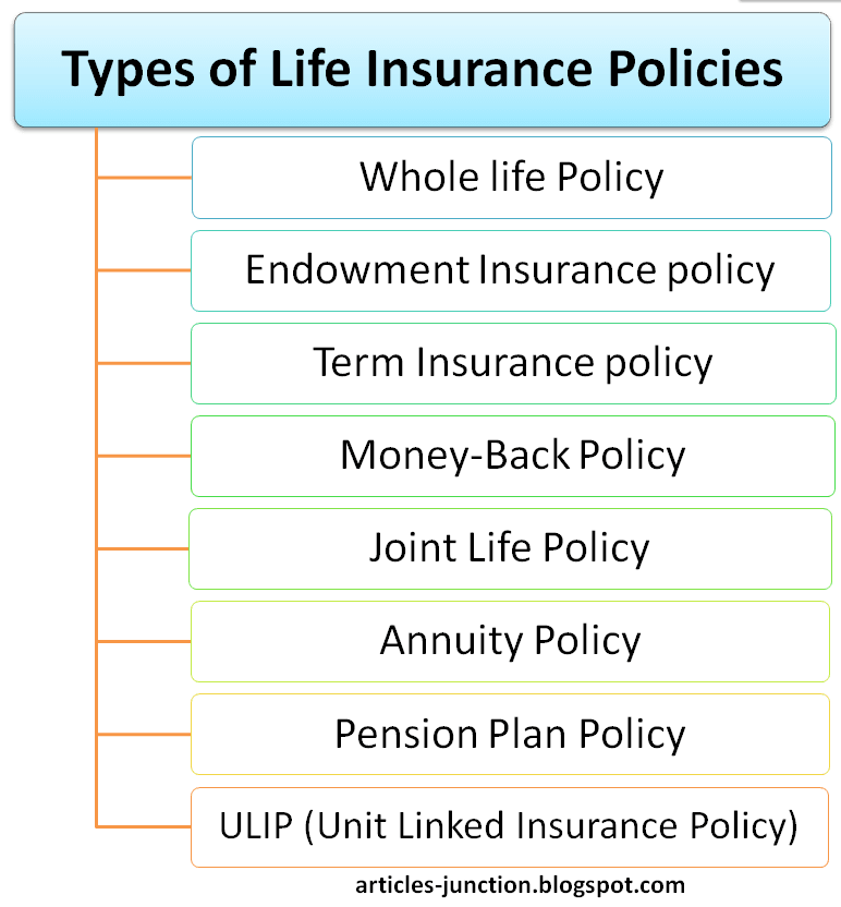 Types of Life Insurance Policies Life Insurance Definition Meaning.