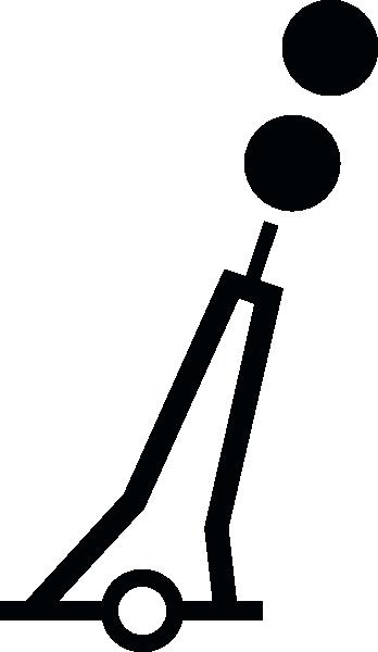Nchart Symbol Int Isolateddanger Mark Pillar clip art Free Vector.