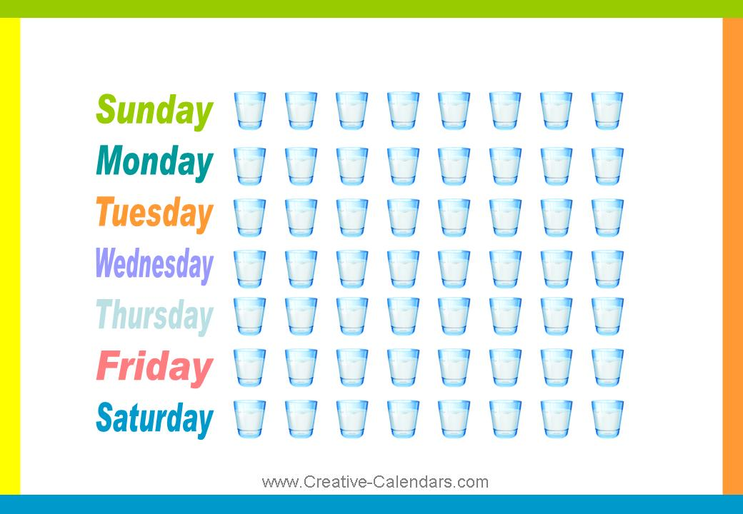 Water intake clipart.