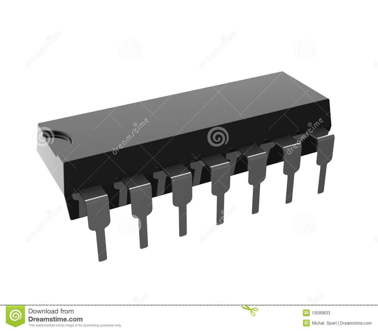 Integrated Circuit Stock Photos.