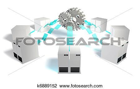 Clip Art of Systems Integration k6889152.