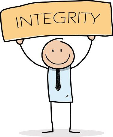 Integrity premium clipart.