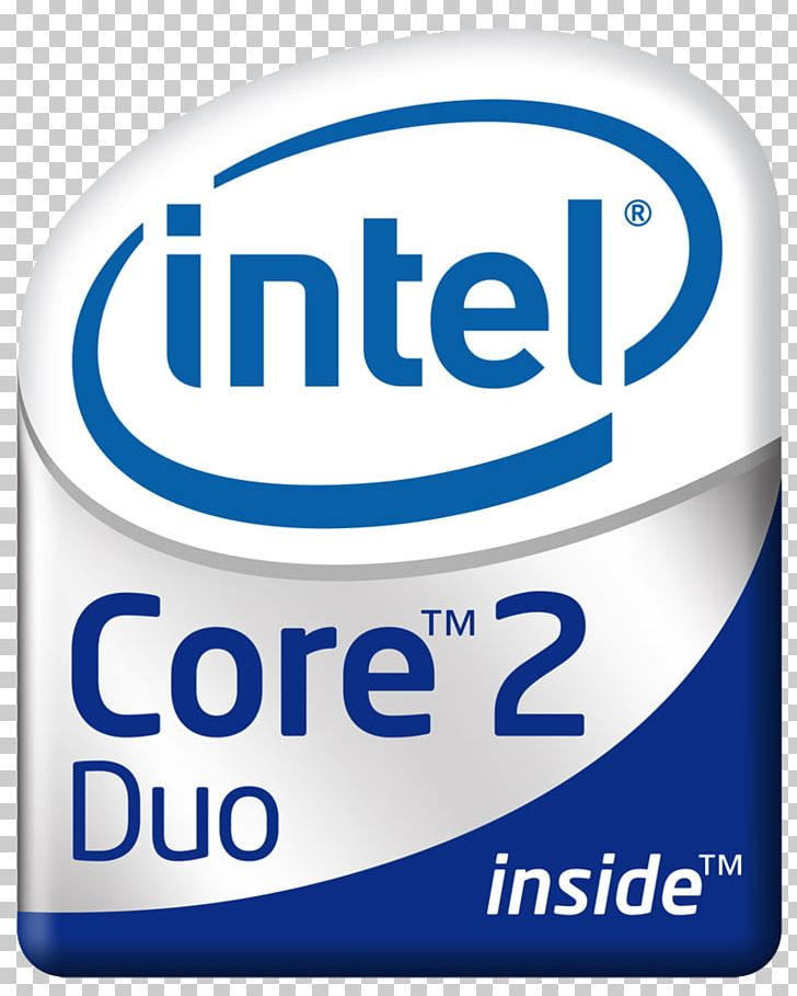 Intel Core 2 Quad Intel Core 2 Duo PNG, Clipart, Area, Brand.