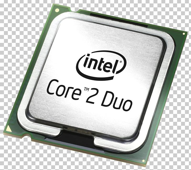 Intel Core 2 Duo Central Processing Unit PNG, Clipart, Brand.