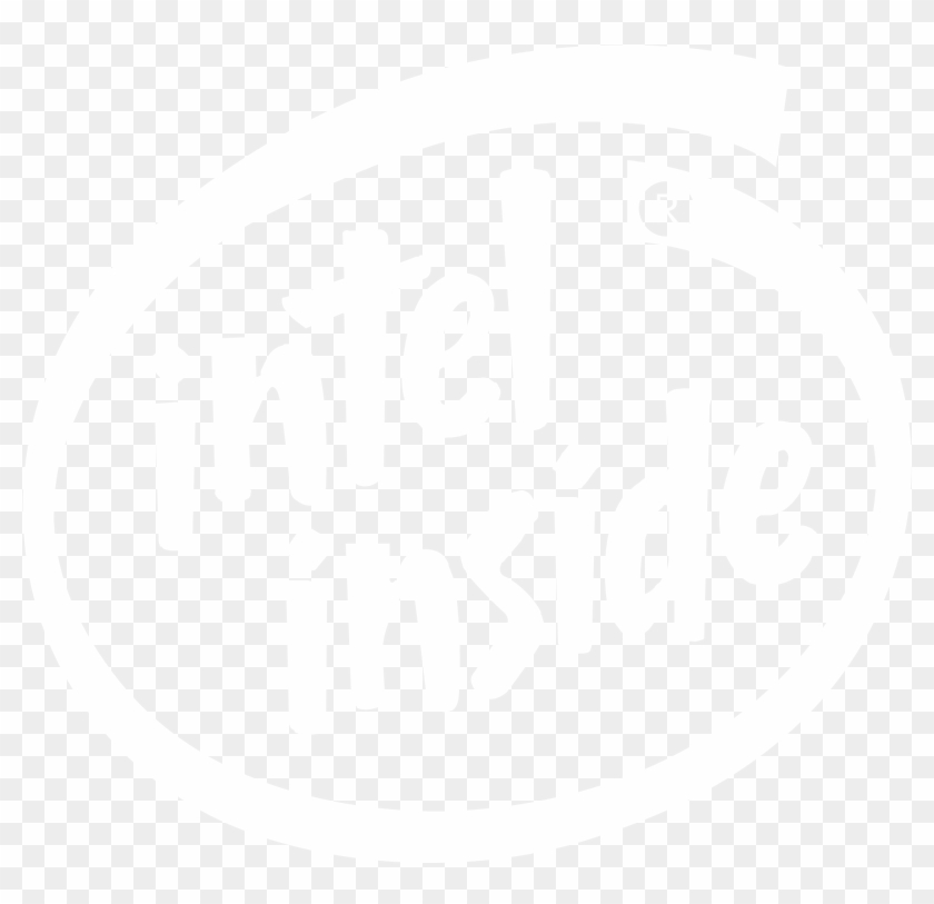 Intel Inside Logo Black And White.