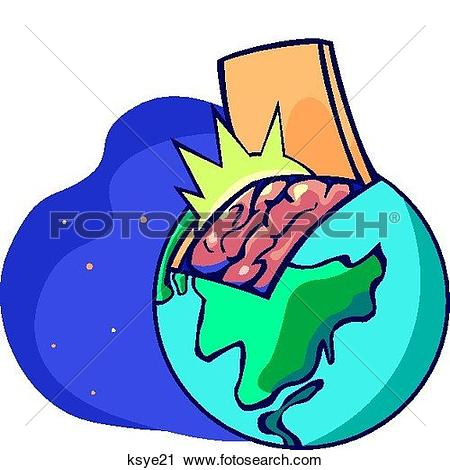 Clipart of Global Intellect ksye21.