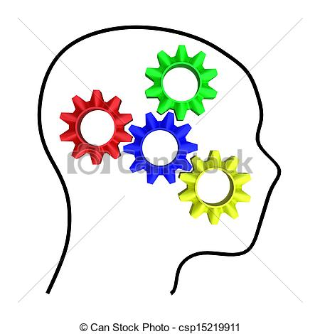 Clipart of intelligence concept design for adv or others purpose.