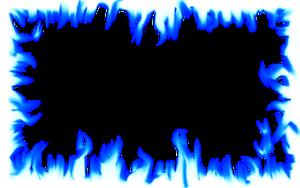 DeviantArt: More Like Flame Border: Intense Blue by Dave110.
