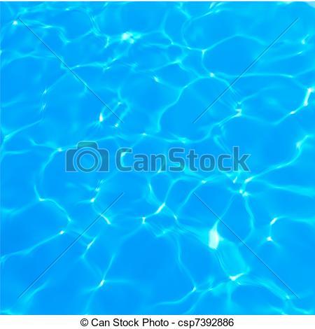 Clip Art Vector of Swimming Pool Water Texture. Vector.