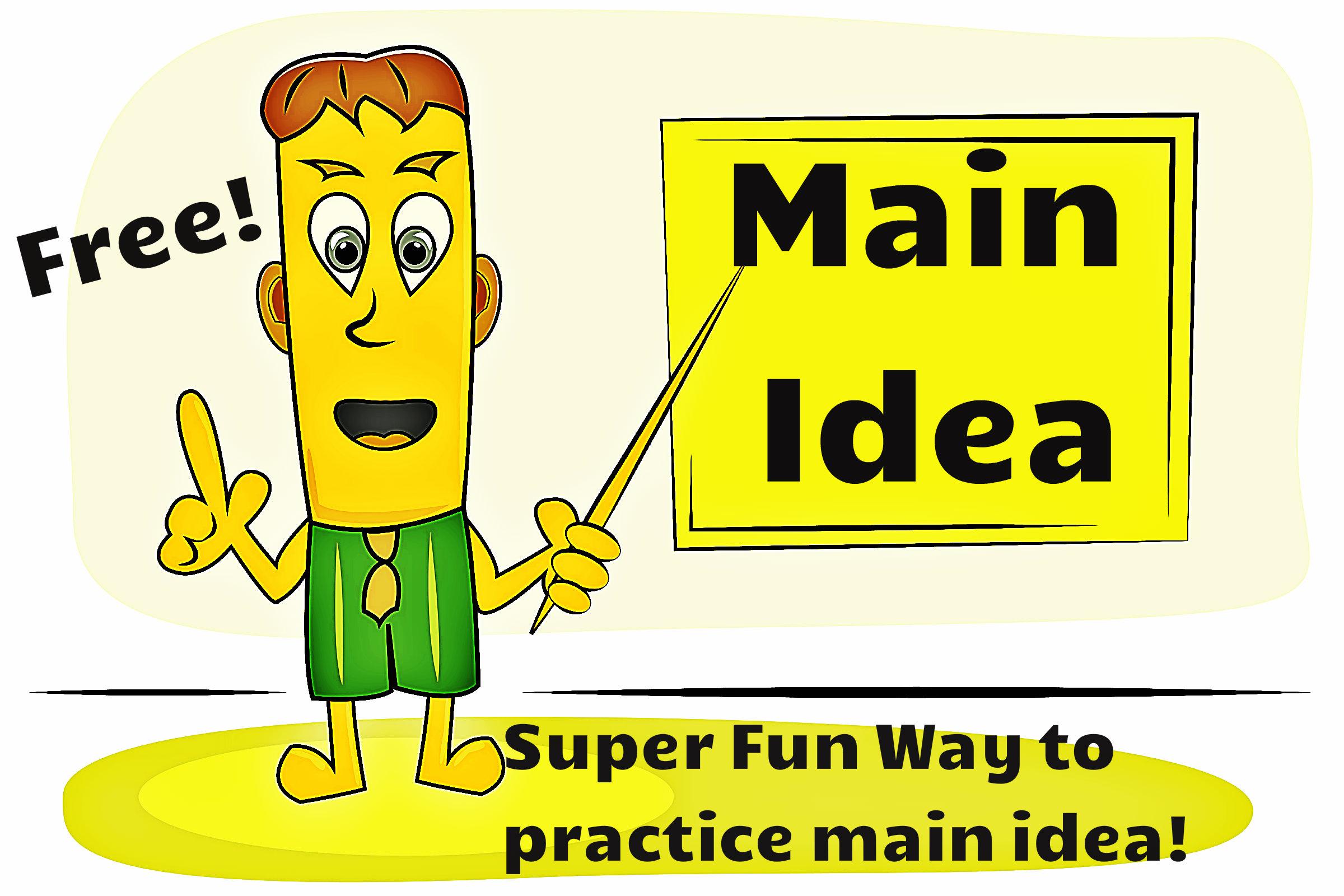 Main Idea Practice.