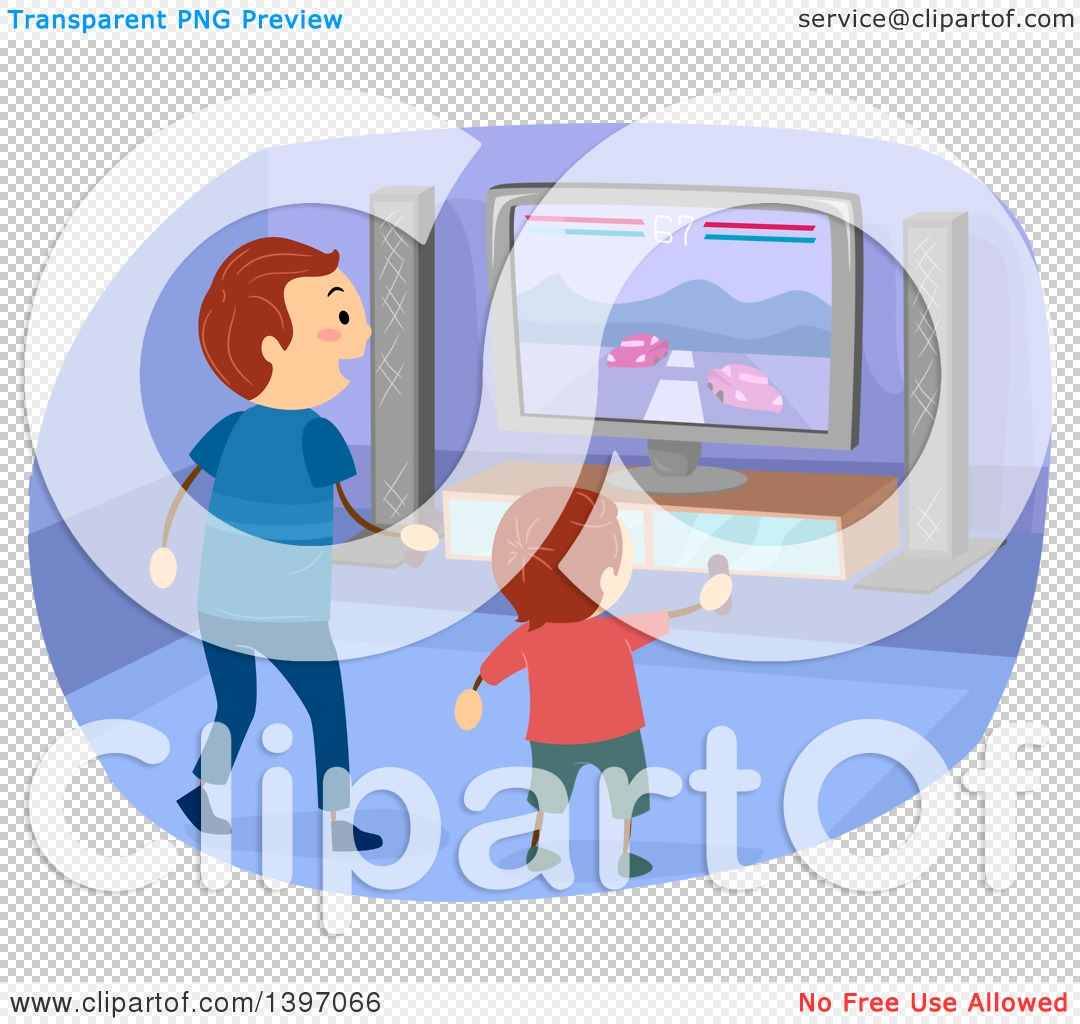 Interactive game clipart.