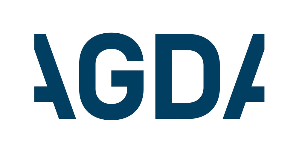 Brand New: New Logo and Identity for AGDA by Interbrand.
