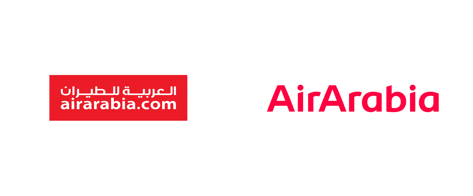Brand New: New Logo, Identity, and Livery for Air Arabia by.