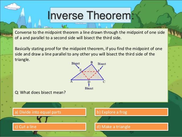 Geometric Proofs.