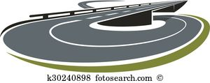 Road interchange Clip Art and Illustration. 45 road interchange.