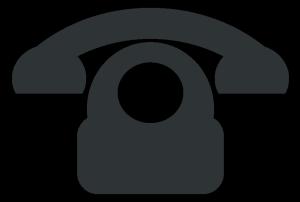 Phone icon clip art.