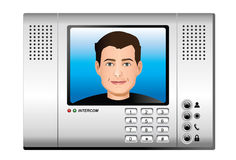 Intercom Stock Illustrations.