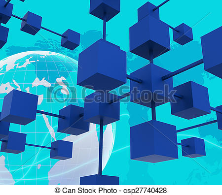 Interconnected network Stock Illustrations. 1,451 Interconnected.