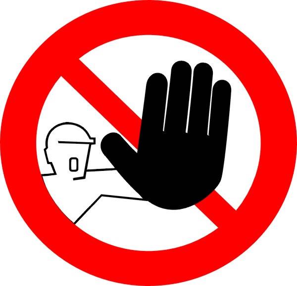 Clipart Image Interdiction Interdit Stop #tOxQtB.