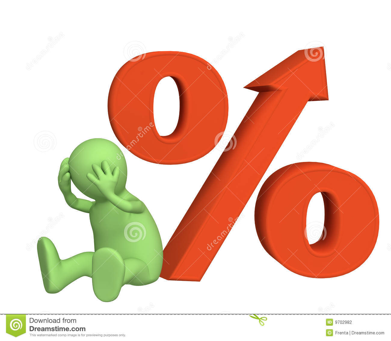 Interest Rates High And Low Stock Photos.