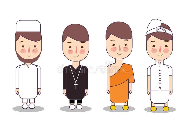 Interfaith Stock Illustrations.