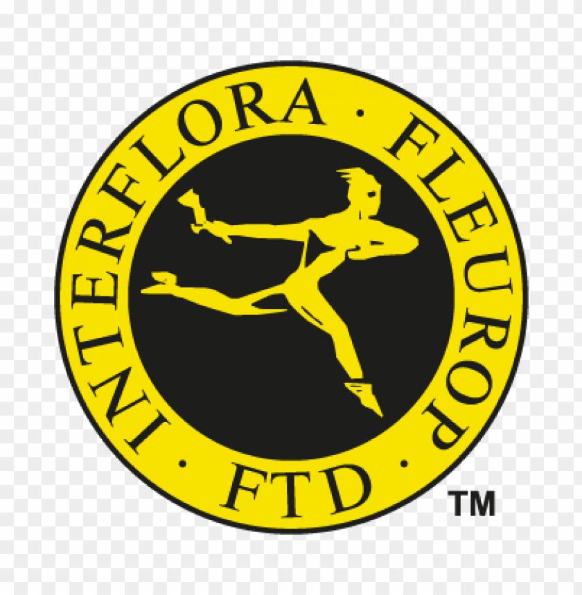 interflora fleurop vector logo.