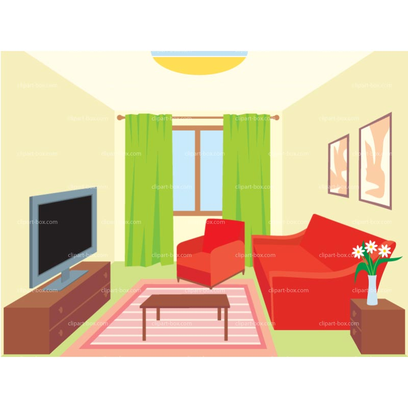 Room Interior Clipart.