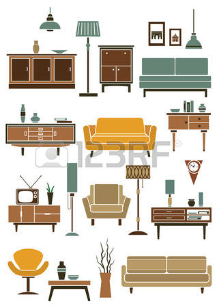 107,899 Furniture Stock Vector Illustration And Royalty Free.
