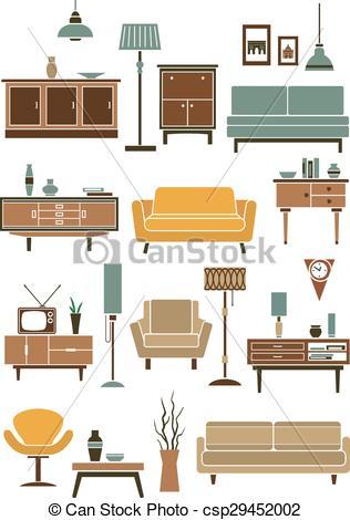 Interior Furniture Clipart Clipground