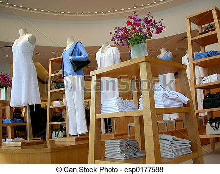 Pictures of Clothing store.