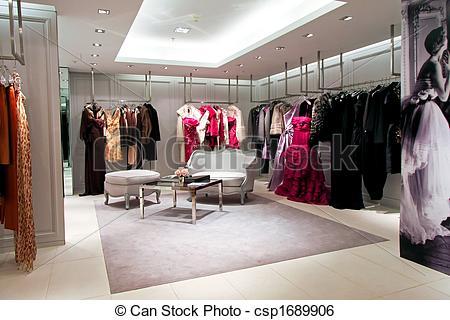 Stock Image of Designer shop 2.