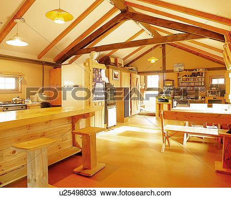 Stock Photo of Interior shot of a Korean style house u25498033.
