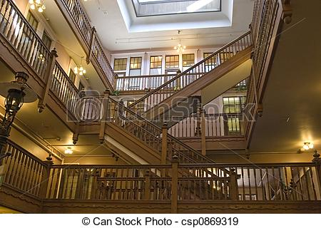 Stock Photographs of Interior Staircases.