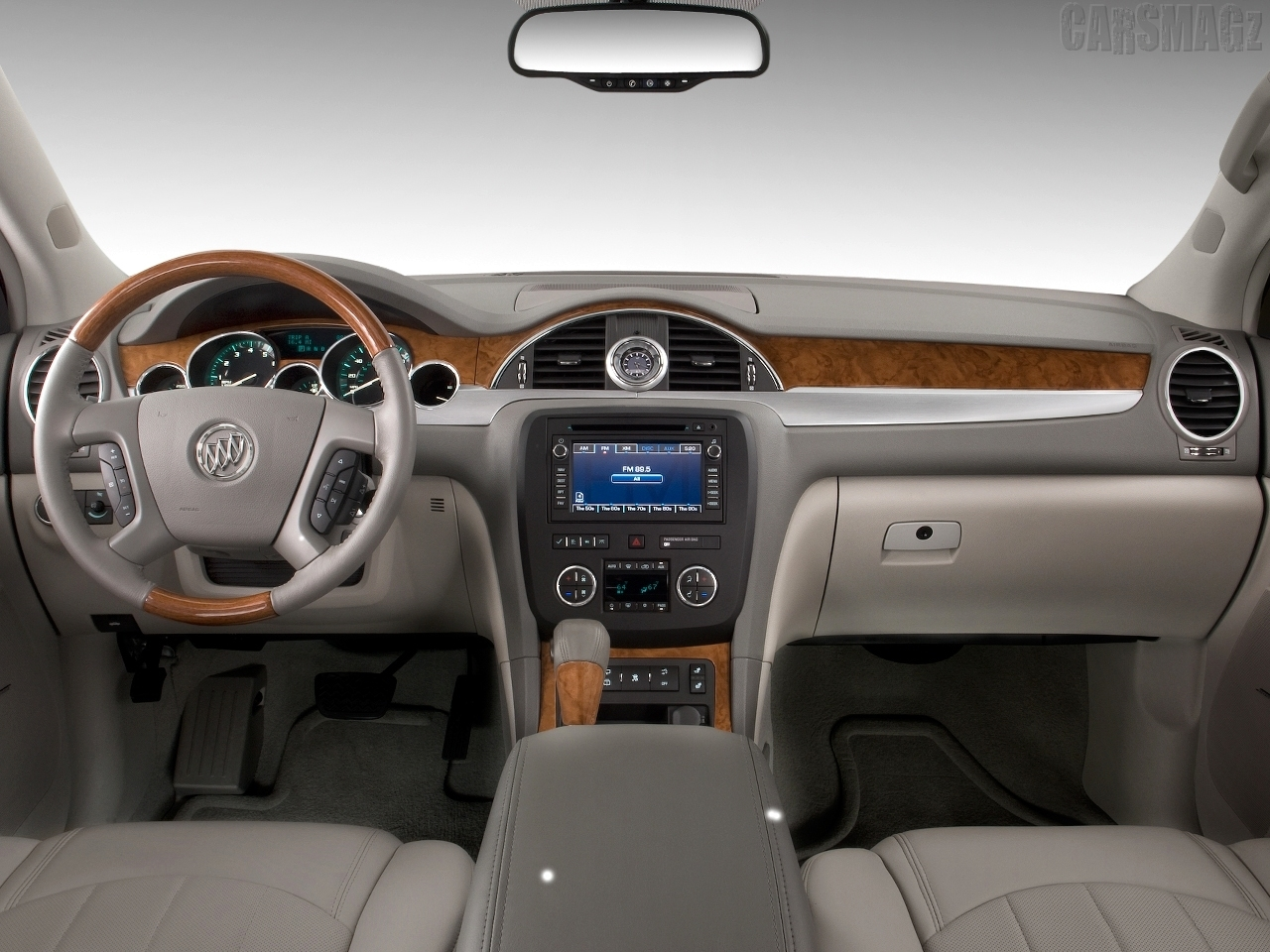 buick Enclave From Interior View Picture.
