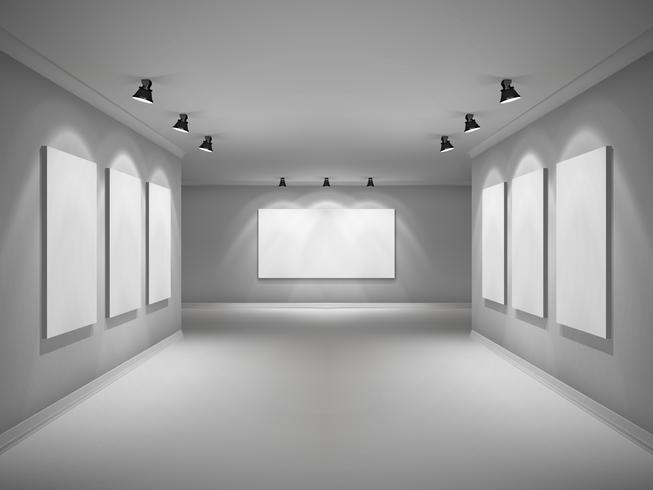 Gallery Interior Realistic.