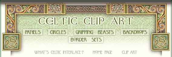 Free Celtic Interlace Clip Art.