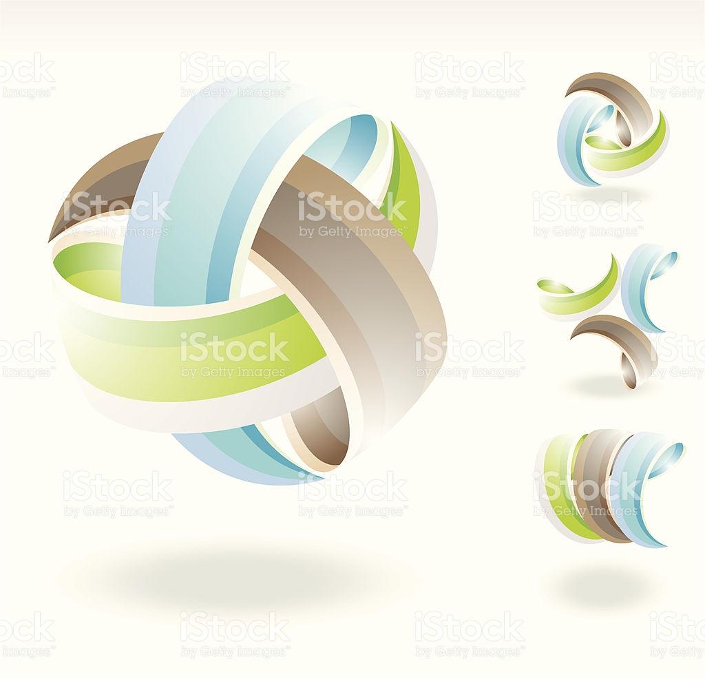 Interlinking Energy stock vector art 165626364.