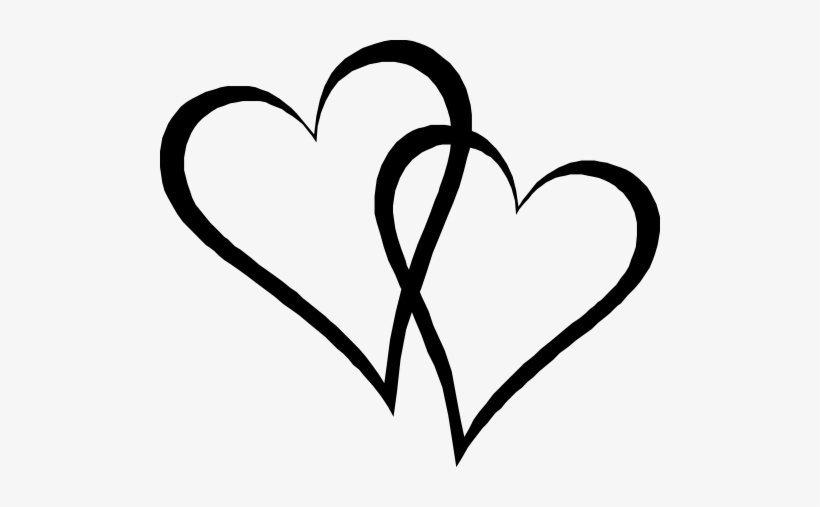 Two Elongated Hearts.